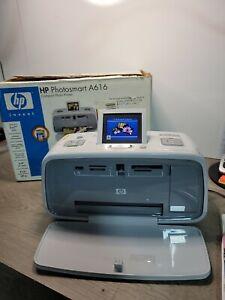 HP Photosmart 475 Digital Photo Inkjet Printer - *Tested*  NO Paper Included