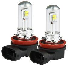 2x H8 H11 6000K 80W High Power CREE LED Fog Driving Light  Lamp Bulb White