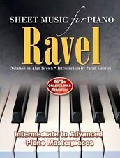 NEW - Ravel: Sheet Music for Piano
