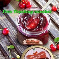 10 Acerola Cherry Scrub Gel Whitening Skin Smooth & Soft Reduces Dark Circles A+