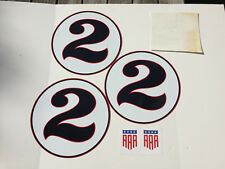 Dan Gurney Saleen Ford GT Mustang Dealer Red Roundels Promotional Graphics Kit