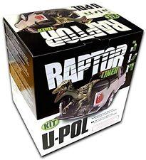 U-POL Raptor Tintable UPO821 Durable Truck Bedliner 4 Liter Kit