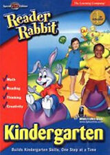 Reader Rabbit Kindergarten  Special 2 CD Edition  New in Box  FUNtastic Learning