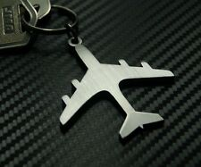 Aeroplane Plane Aircraft RAF Jet Fly Pilot Wings Keyring Keychain Key Fob Gift