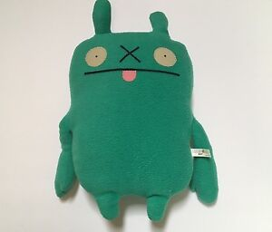 """Classic Ugly Doll Brip RARE 12"""" 2011 Uglydoll Green HTF Collectible SDCC"""