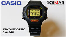 VINTAGE CASIO DW-340, DIVER 300 METRES QW.1000, THE KING OF THE DEPTH