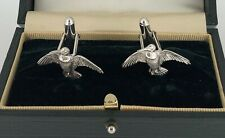 Holland and Holland Cufflinks Silver 925 Snipes