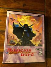 SNK Neo Geo AES Magician Lord Game Complete Case User's Manual 1990