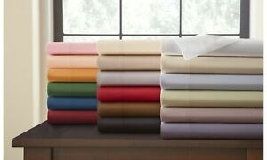 Glorious Bedding Sheet Set 6 PCs Deep PKT Organic Cotton Olympic Queen All Solid
