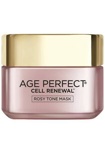 L'Oreal Paris Skincare Age Perfect Cell Renewal Rosy Tone Face Mask 1.7 oz.