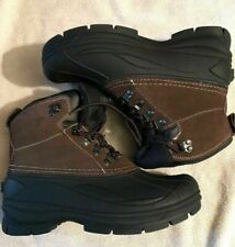 Coleman Mens Glacier-M Leather Winter Boots Size 8M Thinsulate Insulation NWOT