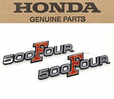 New Genuine Honda Side Cover Emblem Set 1971-1973 CB500 K0 K1 K2 Four OEM #V31