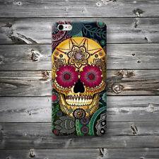 Carcasa Calavera Mexicana Funda Mejicana Floral iPhone 4 4s 5 5s 5c 6 6+ Plus