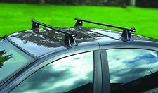 Streetwize 120cm Heavy Duty Adjustable Roof Bars for 4/5 Door Cars with NO Rails