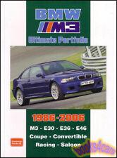 BMW M3 BOOK PORTFOLIO BROOKLANDS ULTIMATE E30 E36 E46 CONVERTIBLE EVO CSL