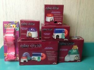 Super Pet Cyber House, Dome, Castle, City, Wave Walk: for Small Animal Habitats