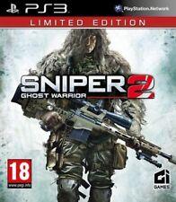 Sniper: Ghost Warrior 2-Edición Limitada (PS3 Juego) * Buen Estado *