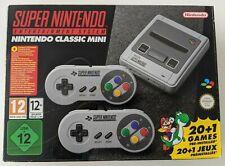 Nintendo Mini Classic: Super Nintendo Entertainment System SNES incl. 21 giochi