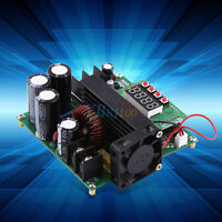 900W Digital DC-DC Output 10-120V 15A Step-up Power Module Boost Converter