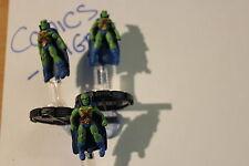 DC Heroclix Origin #82#83#84 Martian Manhunter-Ancien combattant-R/E/V