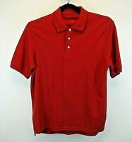 Croft & Barrow Performance Short Sleeve Men's Medium Polo Shirt Red Solid