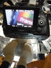 Nikon Smz 2t Microscope Camera Kit W 42mm To Pentax K Bayonet Apophot Opti Labo