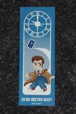 Chibi DR DOCTOR WHO Bookmark RARE Item TARDIS Sonic Screwdriver David Tennant