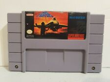 Super Nintendo SNES Aero Fighters Authentic/ After Market Label  Same Day Ship