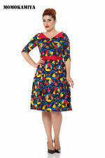 Vestiti da donna multicolore in misto cotone
