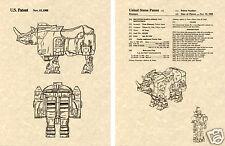 Transformers HEADSTRONG Patent Art Print READY TO FRAME!! G1 Predacon Decepticon