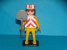 PLAYMOBIL - OUVRIER DE CHANTIER - PROTOTYPES - 1974 - QUICKLY