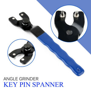 Key Pin Spanner Wrench Tools Adjustable Angle Grinder  Plastic Handle Pin UK