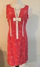 Marc Jacobs 100% Silk Dress Polka Dots Size 8