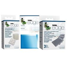 Fluval Edge Replacement Biomax Foam & Carbon Filter Set 4 Aquarium Fish Tank