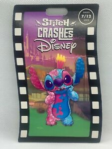 New Stitch Crashes Disney Sleeping Beauty Pin Limited Edition 7/12 IN HAND