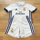 Real Madrid 2016-17 Children's Kid's Football Home Kit Size 4-5 Years, White