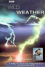 BBC Wild Weather television series twin video VHS pack Good Condition