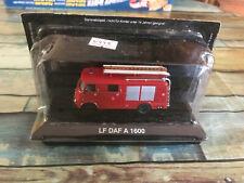 Miniature Camion de Pompiers LF DAF A 1600 DeAgostini 1/72