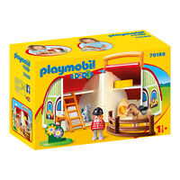 Playmobil 1-2-3 My Take Along Farm Building Set 70180 NEW Learning Toys