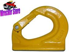 2 Ton Grade 80 Weld on Anchor Hook for wrecker, crane, tractor, rigging, lifting