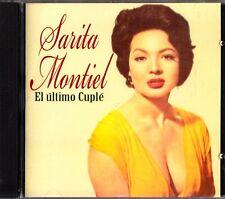 Sarita Montiel -El Ultimo Cuple CD -2008 (Spanish Singer & Actress) RARE