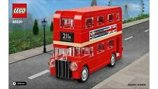 LEGO London Bus Brand New Sealed Box Creator 40220 Double Decker Big Ben Genuine