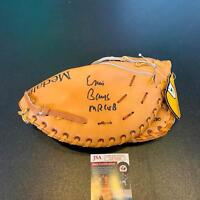 1950's Ernie Banks Mr. Cub Signed Autographed Game Model Baseball Glove JSA COA
