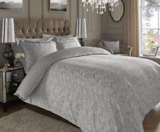 Lenzuola e biancheria da letto floreali argento
