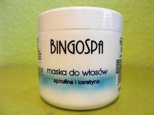 (1,20€/100g) BINGOSPA Haarmaske mit Keratin und Spirulina 500 g