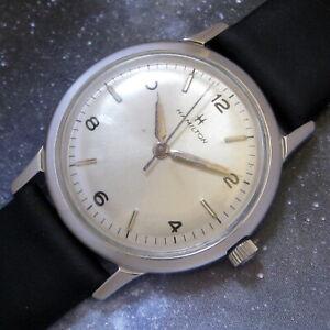 Mens Original 1964 Hamilton SEA ROVER II Hermetic Stainless Steel Swiss Watch