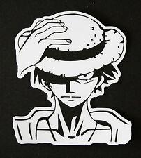 One Piece Luffy Sticker Photo Paper Pirate Anime Japanese Japan Luggage