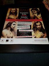 MANA` Grammy Nomination Rare Original Promo Poster Ad Framed!