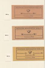 men_ Berlin - Sammlung Markenheftchen - postfrisch MNH - Ausruf: 7 % Michel