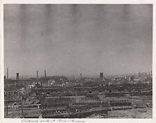 WORLD WAR ll ~ DESTROYED RAILROAD YARDS AT GERA, GERMANY - 1945